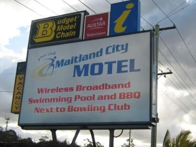 Maitland City Motel - Accommodation Broken Hill