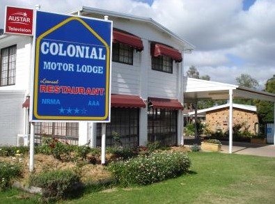 Colonial Motor Lodge - Accommodation Broken Hill