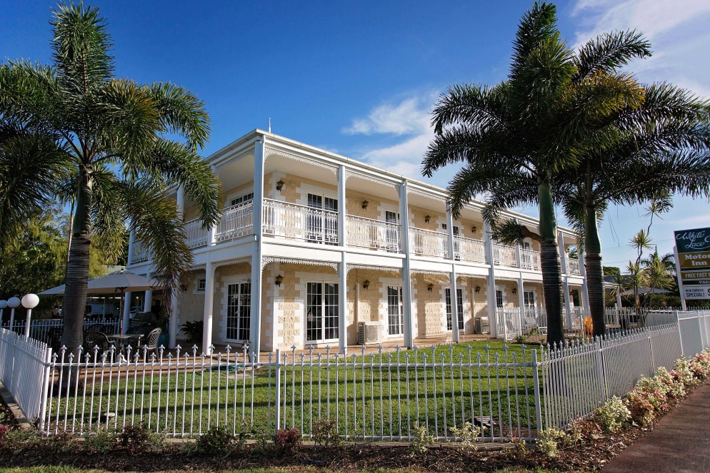 White Lace Motor Inn - Accommodation Broken Hill