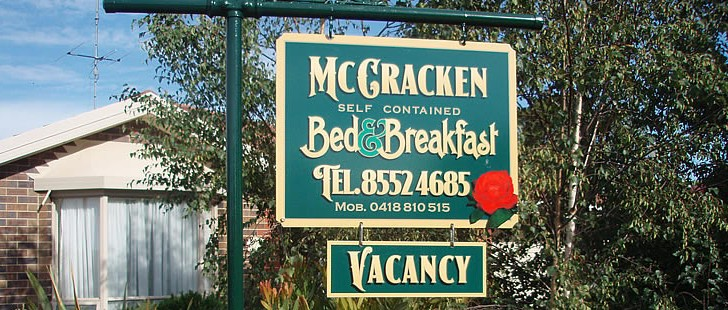 Mc Cracken Bed and Breakfast