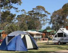 BIG4 Moruya Heads Easts at Dolphin Beach Holiday Park - Accommodation Broken Hill