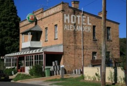 Alexander Hotel Rydal - Accommodation Broken Hill