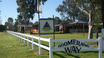 Boomerang Way Tourist Park - Accommodation Broken Hill