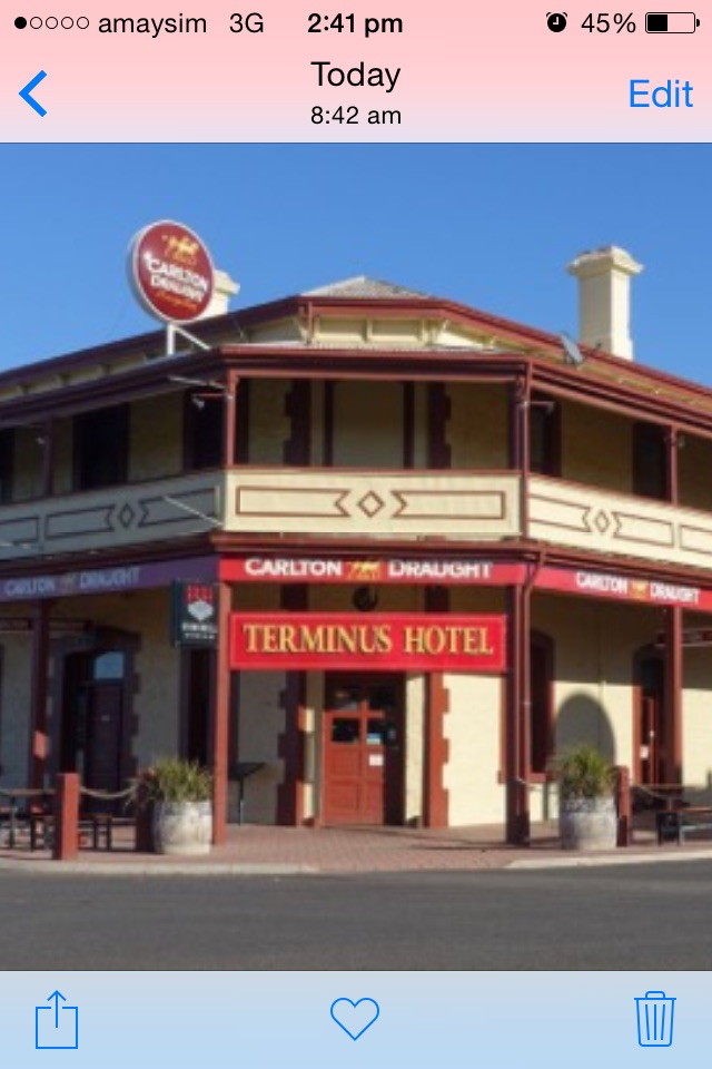 The Terminus Hotel Motel - Accommodation Broken Hill