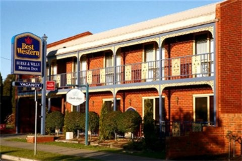 Best Western Burke amp Wills Motor Inn - Accommodation Broken Hill