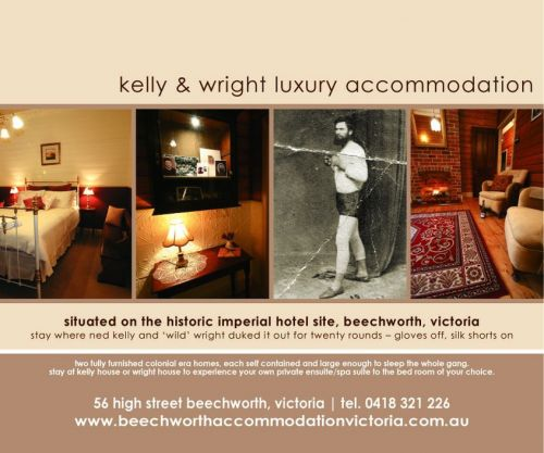 Beechworth Accommodation Victoria - Accommodation Broken Hill