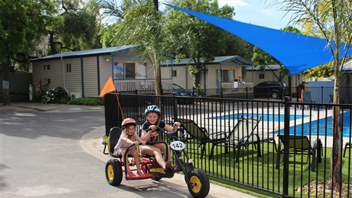 Barwon River Tourist Park - Accommodation Broken Hill