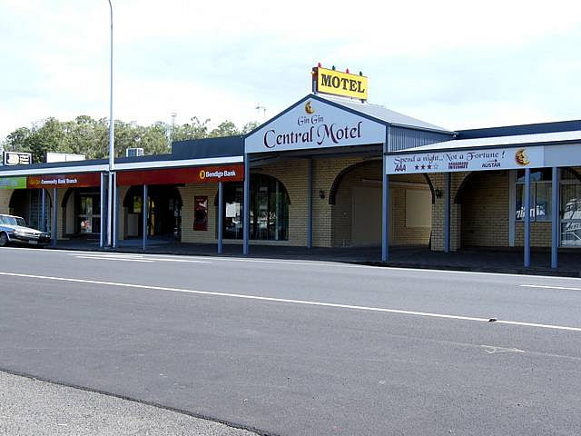 Gin Gin Central Motel - Accommodation Broken Hill