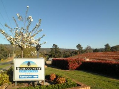 Hume Country Motor Inn - Accommodation Broken Hill