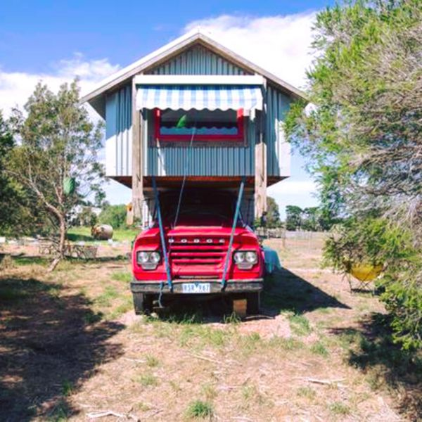 Torquay Farmstay  Blue Studio Truck - Accommodation Broken Hill