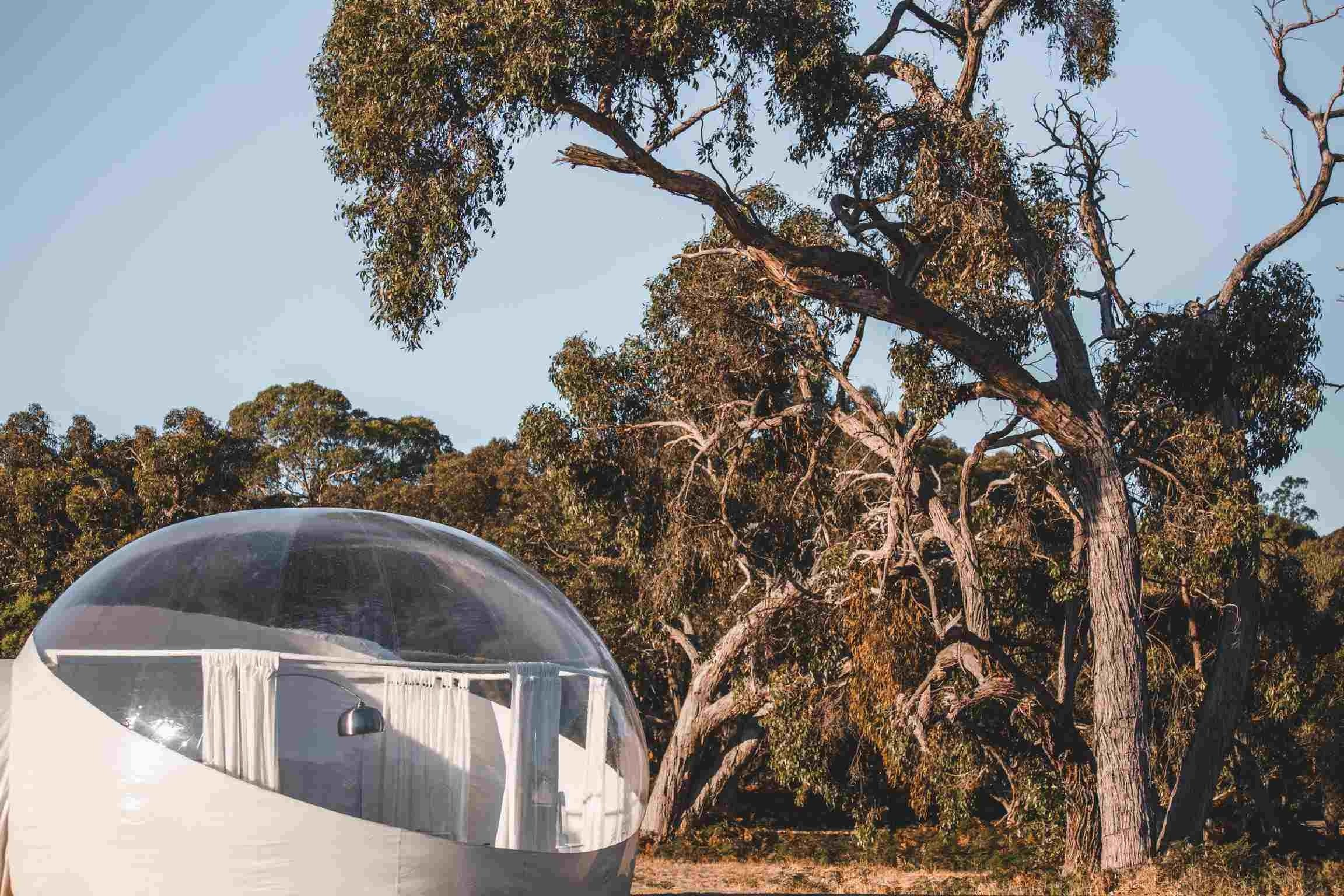 Coonawarra Bubble Tents - Accommodation Broken Hill
