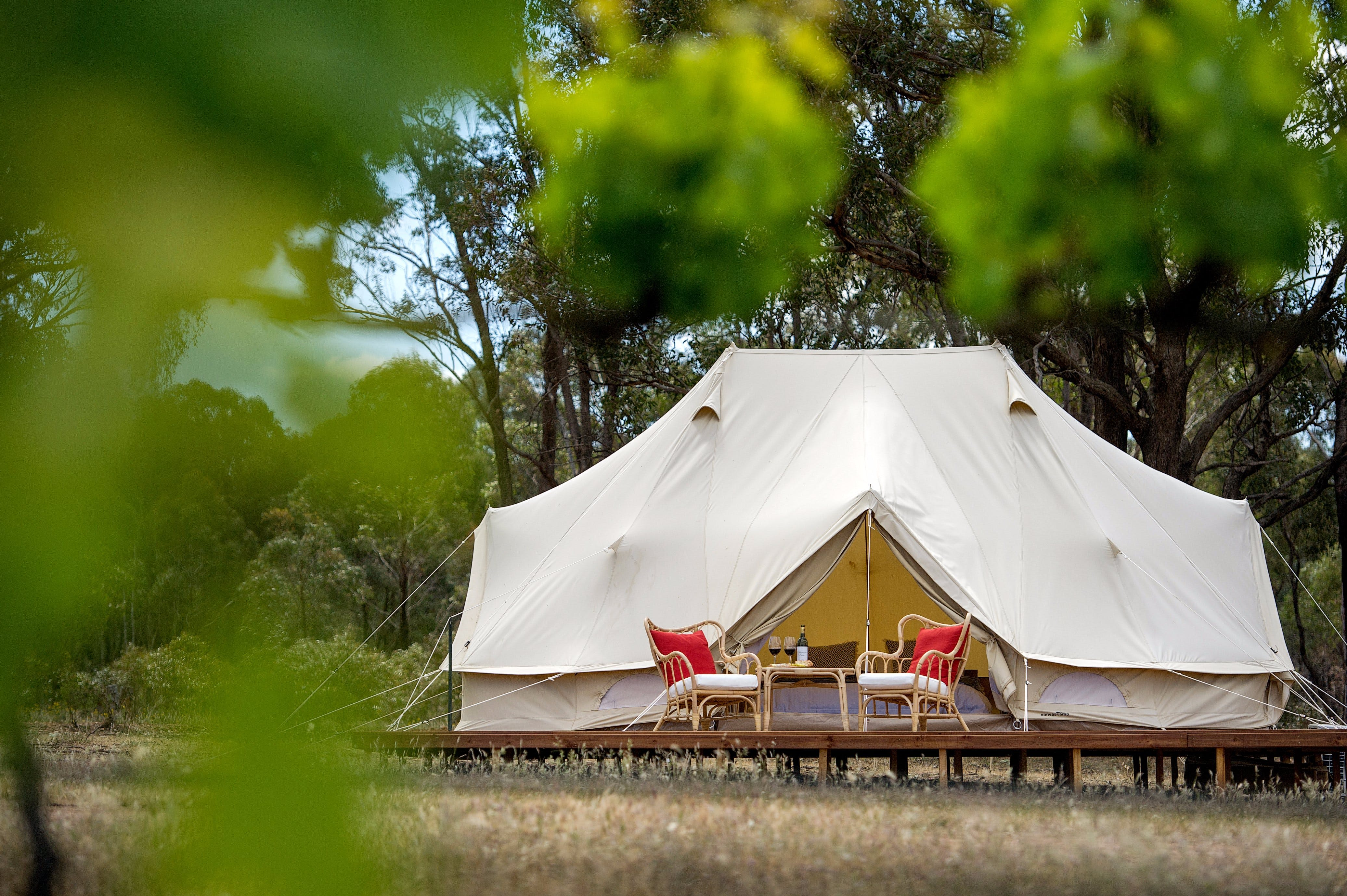 Balgownie Estate Winery Glamping  Accommodation - Accommodation Broken Hill