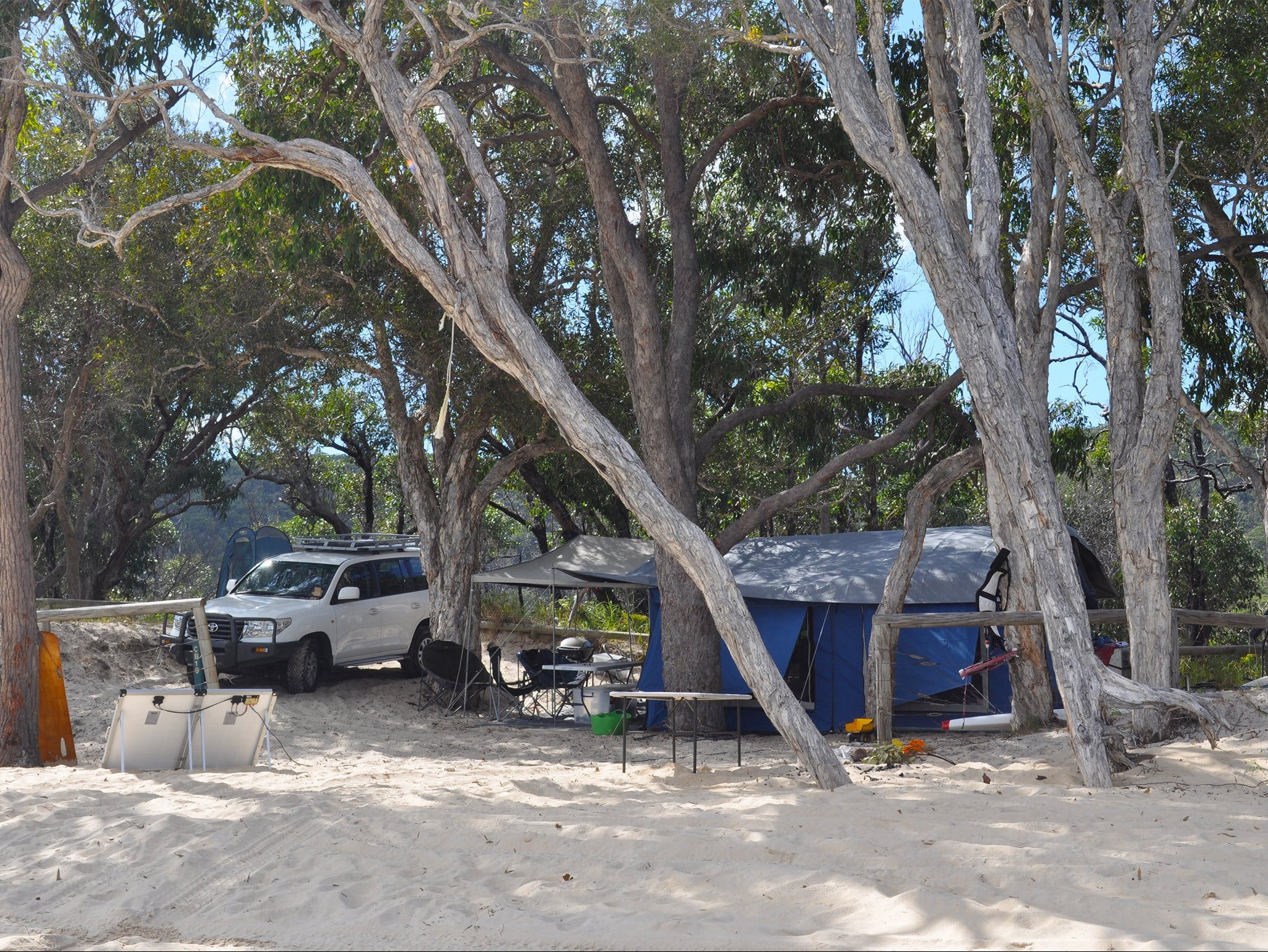 Moreton Island National Park and Recreation Area camping - Accommodation Broken Hill