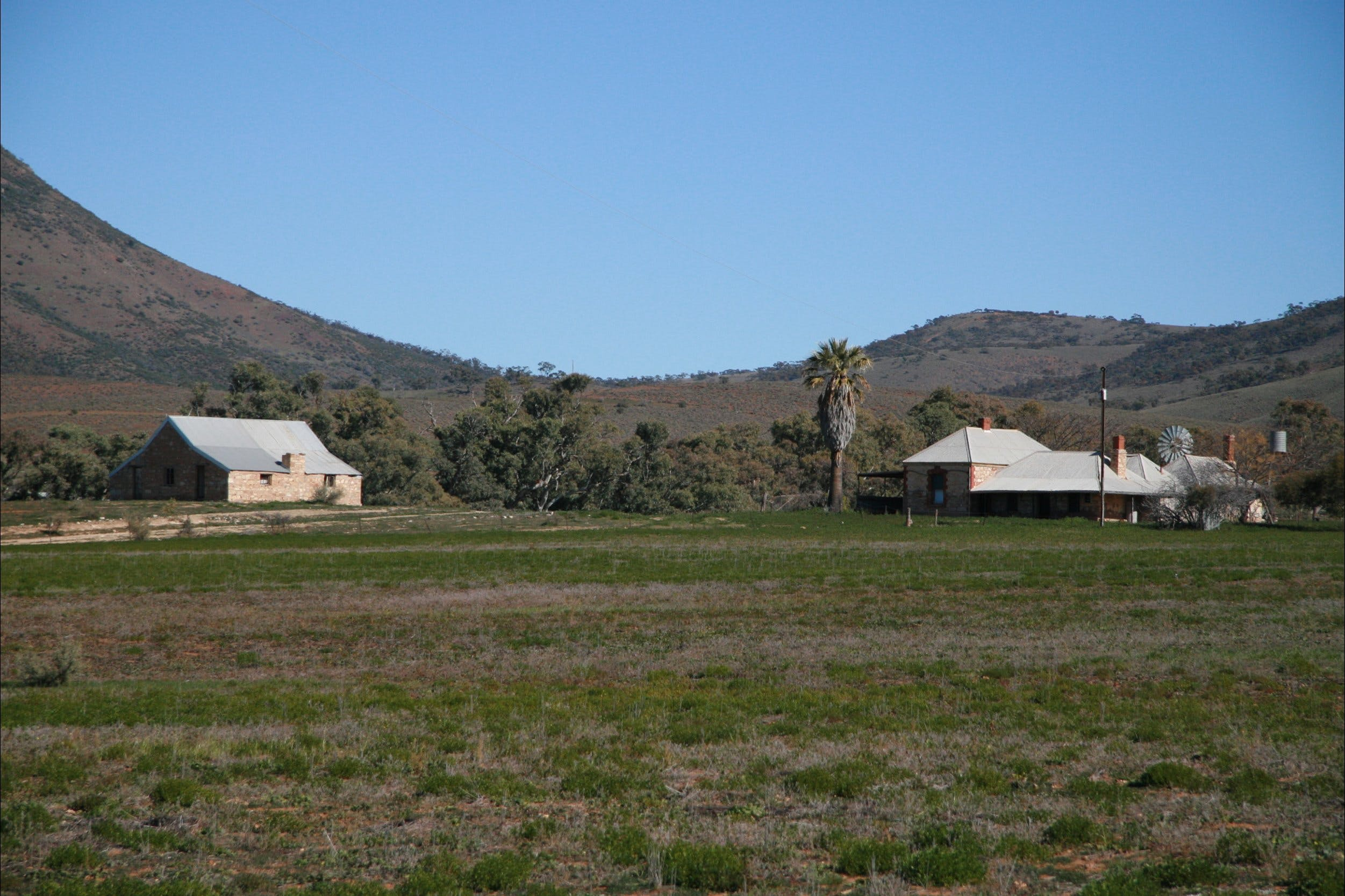 The Dutchman's Stern Homestead - Accommodation Broken Hill
