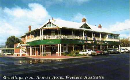 Harvey Hotel - Accommodation Broken Hill