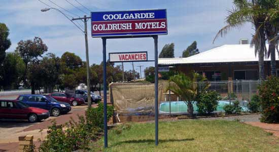Coolgardie Motel - Accommodation Broken Hill