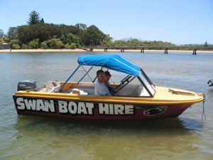 Swan Boat Hire - Accommodation Broken Hill