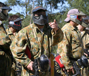 Action Paintball Games - Perth - Accommodation Broken Hill