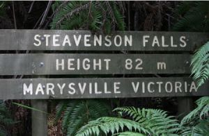 Stevensons Falls - Accommodation Broken Hill