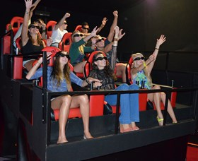 7D Cinema - Virtual Reality - Accommodation Broken Hill