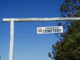 Longreach Cemetery - Accommodation Broken Hill