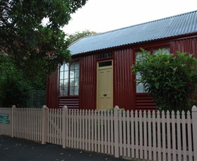 19th Century Portable Iron Houses - Accommodation Broken Hill