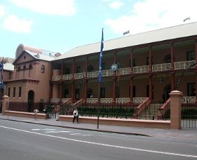 Parliament House - Accommodation Broken Hill