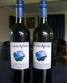 Thunder Ridge Wines - Accommodation Broken Hill