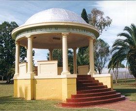 Kingaroy Soldiers Memorial Rotunda - Accommodation Broken Hill