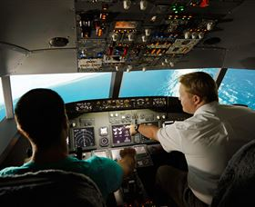 Jet Flight Simulator Sydney - Accommodation Broken Hill