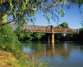 Narrandera Rail Bridge - Accommodation Broken Hill