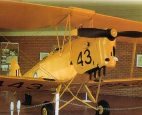 Tiger Moth Memorial - Accommodation Broken Hill