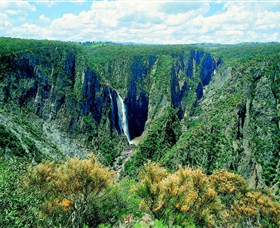 Wollomombi Falls - Accommodation Broken Hill