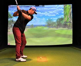 Par-Tee Virtual Golf - Accommodation Broken Hill