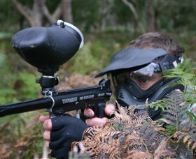 Tactical Paintball Games - Accommodation Broken Hill