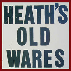 Heaths Old Wares Collectables  Industrial Antiques - Accommodation Broken Hill