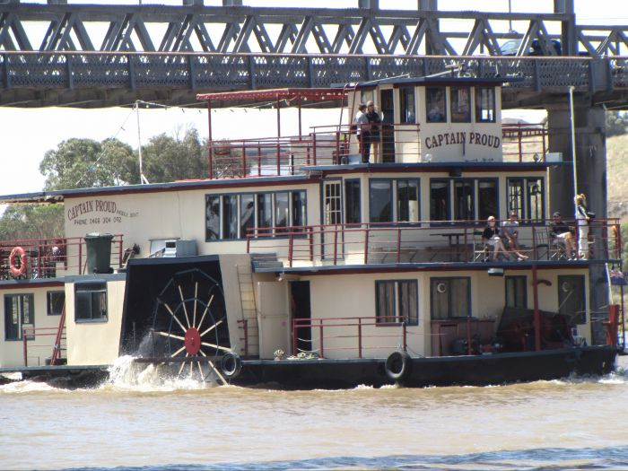 Captain Proud Paddleboat Cruises - Accommodation Broken Hill