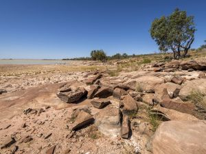 Peery Lake picnic area - Accommodation Broken Hill