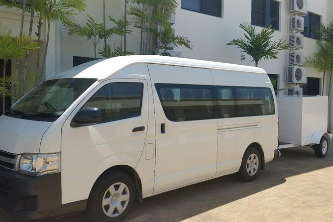 Airport Transfer to or fm Palm Cove accommodation for up to 13 people 7am-10pm - Accommodation Broken Hill