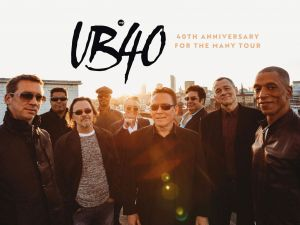 UB40 40th Anniversary Tour - Accommodation Broken Hill