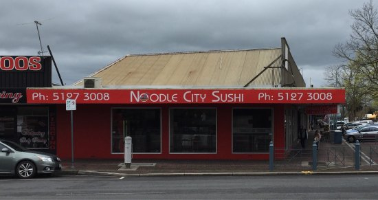 Noodle City  Sushi - Accommodation Broken Hill