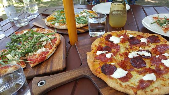 Bank Street Wood Fired Pizza and Gardens - Accommodation Broken Hill