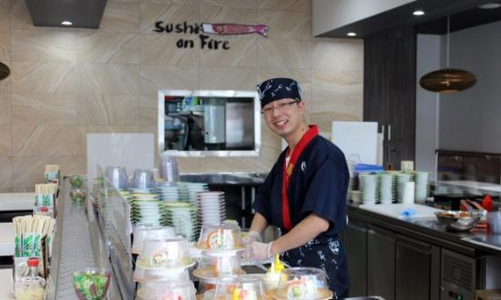 Sushi On Fire - Accommodation Broken Hill