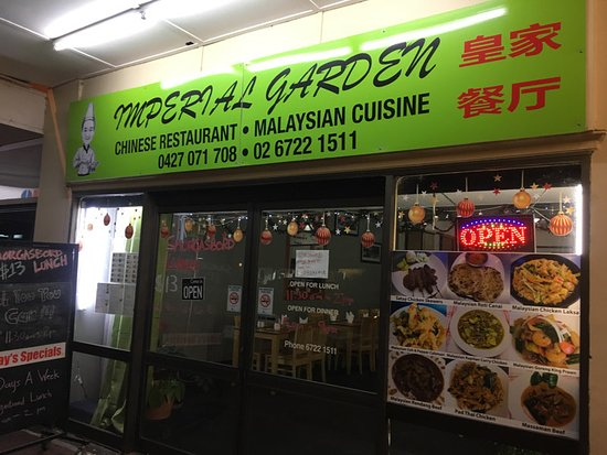 Imperial Garden Chinese Malaysian Cuisine - Accommodation Broken Hill
