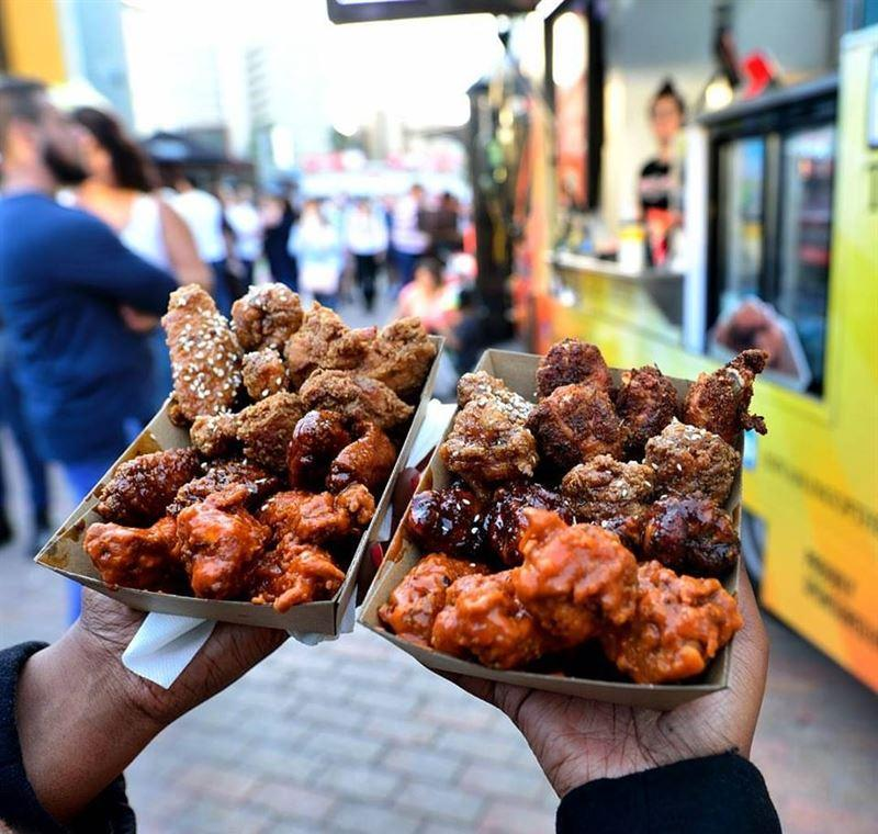 King Of The Wings Food Truck