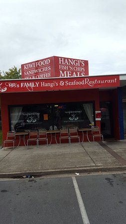 Blood Brothas Family - Hangi  Seafood Restaurant - Accommodation Broken Hill