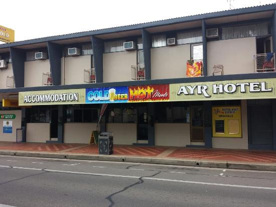 Ayr Hotel - Accommodation Broken Hill