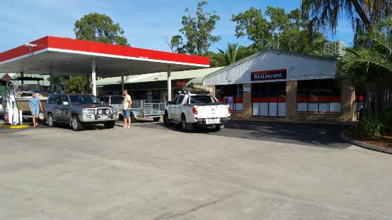 Caltex Agnes Water - Accommodation Broken Hill