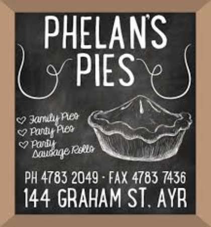 Phelan's Pies - Accommodation Broken Hill