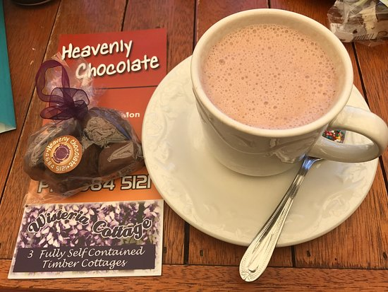 Stanthorpe's Heavenly Chocolate at Wisteria Cottage - Accommodation Broken Hill